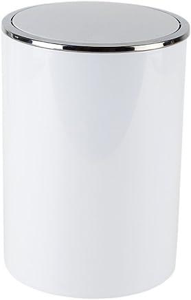 Primanova Lenox Çöp Kovası 6 Lt Beyaz (E35) M-E35-01