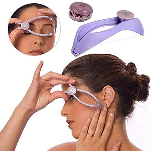 Unknow Remover Blister Remover Manuel Remover Facial Remover Facial Remover Coton Fil Remover DIY Maquillage Beauté Outil pour Joues Sourcils