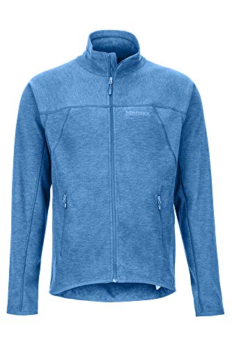 Marmot Herren Pisgah Fleece Jacket Fleecejacke, Outdoorjacke, Atmungsaktiv, Classic Blue, XL