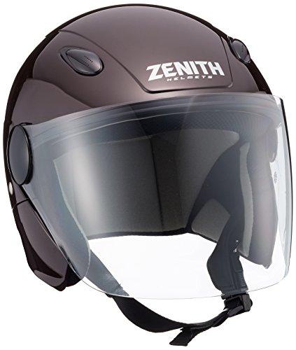 ヤマハ(YAMAHA) バイクヘルメット ジェット 原付 SF-7 リーウインズ ダークブラウン S (頭囲 55cm~56cm) 90791-3253W