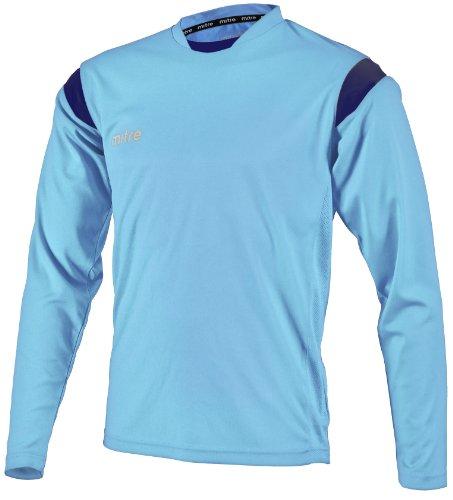 Mitre Motion Sky - Camiseta de equipación de fútbol para Hombre, Color Azul, Talla FR: X-Small/32-34