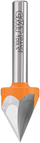 new arrival 60-Degree 2021 V-Groove online sale Bit, 1/4-Inch Shank, 1/2-Inch Diameter, Carbide-Tipped online