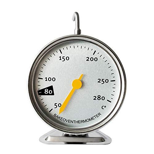 WXFXBKJ Haute précision en Acier Inoxydable Four Thermomètre de ménage Cuisine Four Grill Lecture instantanée Fumeur Thermomètre 50-280 □