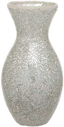 Maturi Florero de Mosaico de Cristal Agrietado