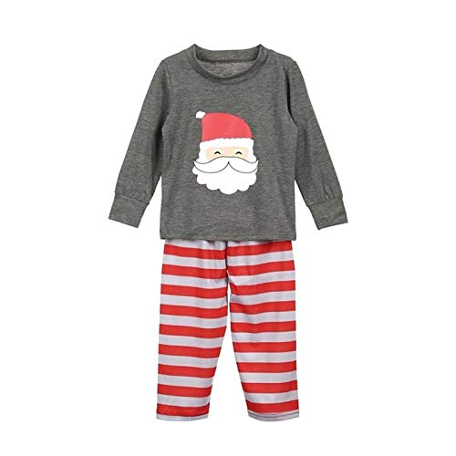 Rcsinway Winter, komfortable Familie Pyjamas Europe, Weihnachten Elternkindanzug...