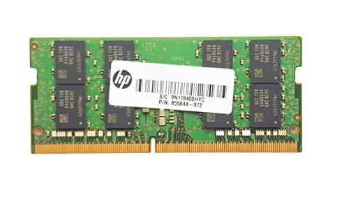 HP 32GB (2x16GB) DDR4 Sodimm 2400MHz 260 Pin PC4-19200 Memory Upgrade Kit EliteDesk, ProDesk, EliteBook, ProBook, EliteOne & ProOne series - Z9H53AT 855844-972