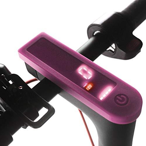 SMILEQ Panel de Tablero de Tablero a Prueba de Agua para Xiaomi M365 Scooter eléctrico (Rosa Caliente)