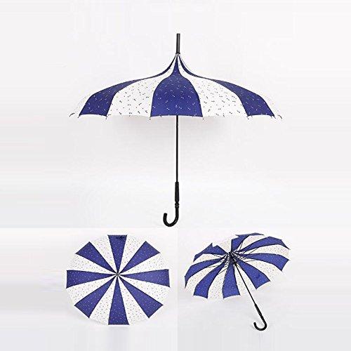 bpblgf H Professionnel Pas Cher à La Mode MéNage Coupe-Vent Mariage Parapluie, 04