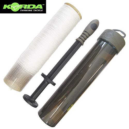 Korda Funnel Web PVA System 7m - wasserlösliches Netzmaterial zum Karpfenangeln, Netzschlauch zum Anfüttern von Karpfen