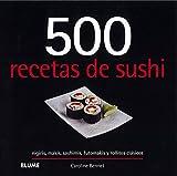 500 recetas de sushi...
