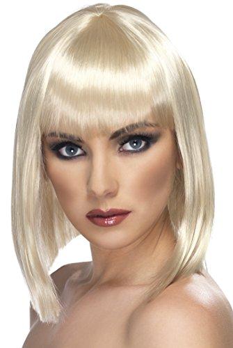 Perruque Carré Blonde Femme