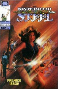 Comic Sisterhood of Steel comic book - Vol 1 No 1 - December 1984 Book