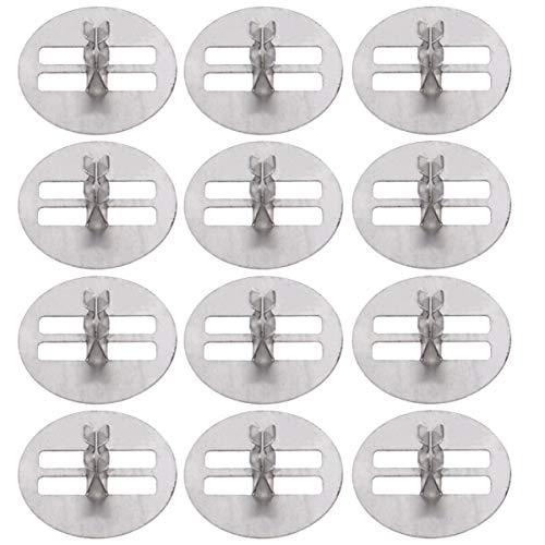 EXCEART 100 Piezas Base de Mechas para Velas Hecho a Mano Pinza para Velas Más Tiempo de Quema Menos Pérdida de Cera Pinza para Velas de Madera para Tienda en Casa