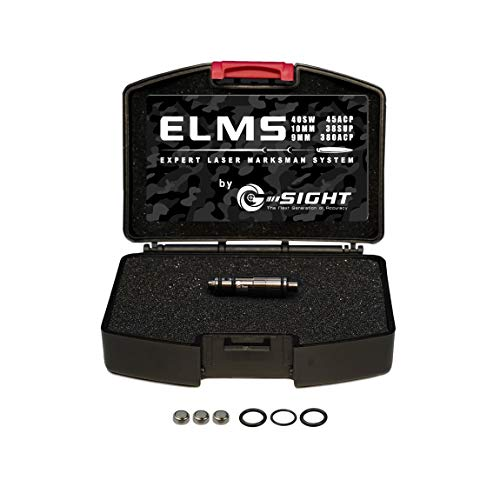 G-Sight 9mm ELMS Laser Bullet Dry Fire Training | Snap Cap Trainer Free iPhone/Android App |...