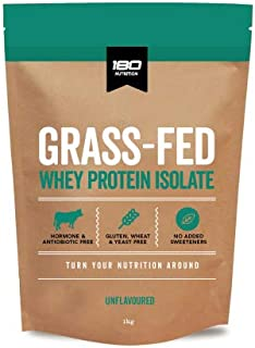 180 Nutrition Grass-Fed Whey Protein Isolate, 1 kilograms