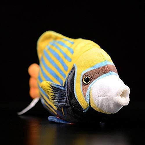 N/D Giocattoli di Peluche Simpatico Pesce Tropicale Imperatore Figura di Pesci Angelo Reale Simulazione Animale Giocattolo di Peluche Baby Kids