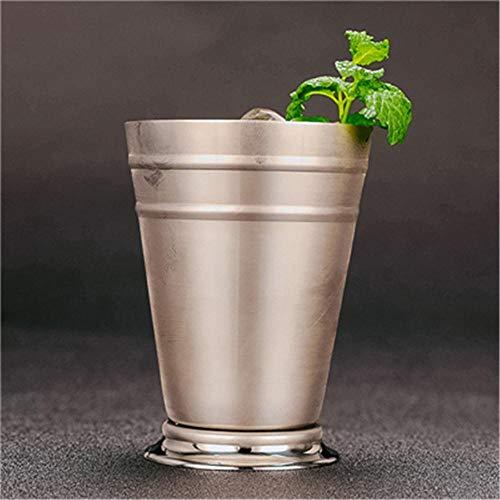 Martini Mojito Wijnbeker, 360 ml, roestvrij staal, cocktailbeker, mixdrank, beker, Martini, mojito, drank, bar, party, bierkrokken Sliver.