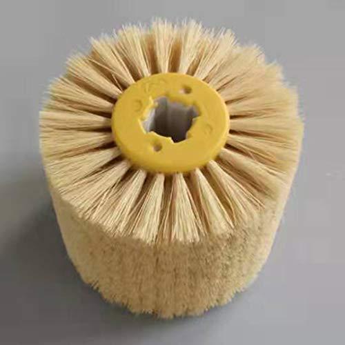 perfk Professional Satinierwalze/Nylonbürste/Schleifbürste für Satiniermaschine, Körnung zum auswählen - Sisalbürste