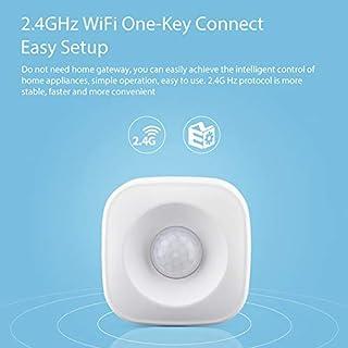 WiFi PIRモーションセンサー人体赤外線セキュリティアラーム検出器互換Alexa GoogleホームIFTTTスマートホームオートメーション