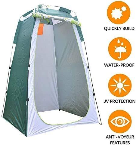 190X120X120cm Vert Bain et Changement de v/êtements CAIDUD Pop Up Tente de Douche en Plein air avec Camping Tente Gratuite pour Bain ext/érieur