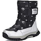 [メイオウ] スノーブーツ キッズ ジュニア ブーツ ウインターブーツ 子供靴 裏ボア スキー アウトドア 冬用ブーツ 防水 保暖 防寒 雪遊び スキー 雪用 ブーツ スキー 男の子 女の子