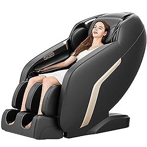 Massage Chair, Zero Gravity Shiatsu Massage Chairs Full Body and Recliner SL-Track Massage Chair with Bluetooth Speaker…