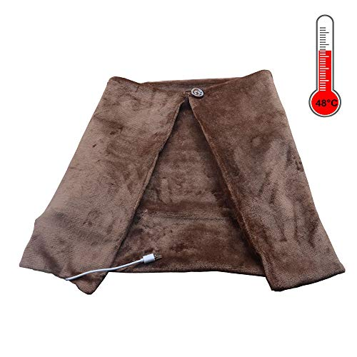 PITI USB Heated Shawl Small Blanket Cape Cloak Winter Warm Wrap Electric Office Warmer Heater -  PI-Store