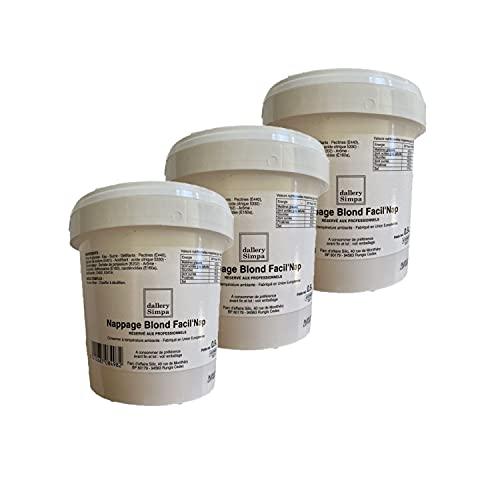 Set di 3 spugne biondo pasticceria – barattolo 900 g