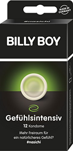 Billy Boy Gefühlsintensiv Kondome mit mehr Freiraum, Transparent, 12er Pack