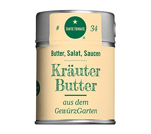 Tante Tomate - KräuterButter - aus dem GewürzGarten - Gewürzmischung 70g