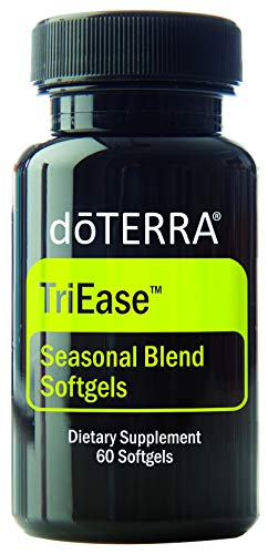 doTERRA - TriEase Softgels Essential Oil Seasonal Blend - 60 Softgels