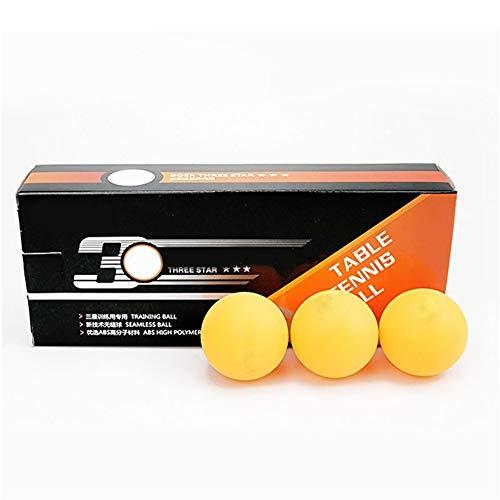 Best Bargain Tenflyer 10pcs Table Tennis Balls 3 Star 40+ ABS Plastic Ping Pong Balls Table Tennis T...