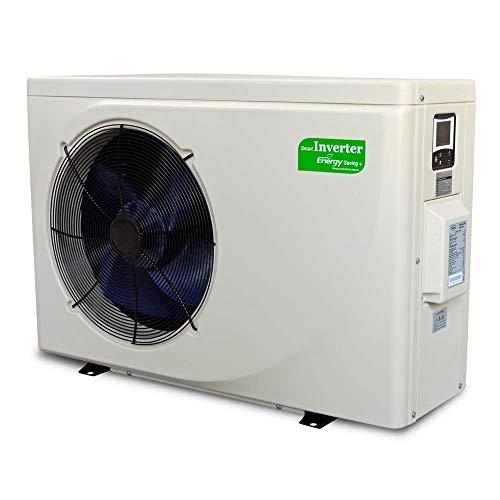 Peraqua Smart Full-Inverter Plus Wärmepumpe für Swimmingpools 11,3 kW bis 45m³ (8,0kW bis 25m³)