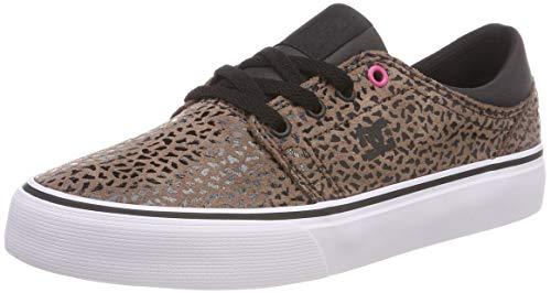 DC Shoes Damen Trase SE Skateboardschuhe, Braun (Cheetah Print Che), 39 EU