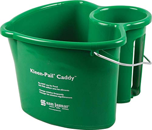 Carlisle KP550GN Kleen-Pail Commercial Cleaning Caddy Only, Green