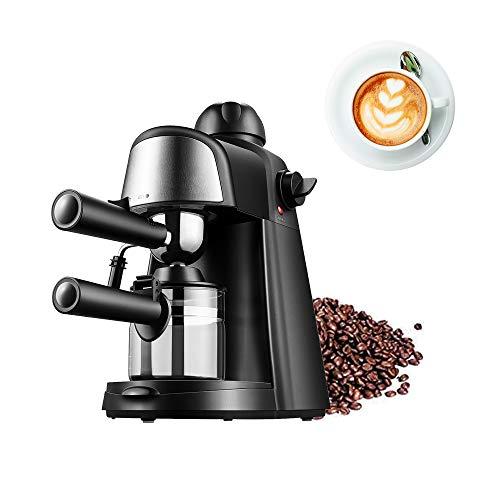 Macchina per caffè espresso Piccola pompa a vapore semiautomatica italiana, macchina per caffè espresso tradizionale con pompa da barista, macchina per caffè e cappuccino, grande capacità 240 ml