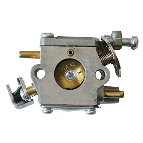 YiWu Cortadora de Accesorios Compatible for el carburador de la Motosierra 309362001 309362003 Homelite 35cc 38cc 42cc Carb
