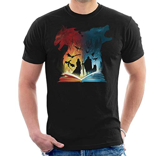 Book of Fire and Ice Game of Thrones Men's T-Shirt