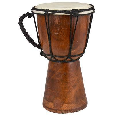 Drums Djembe Drum Djembe jembe is a Rope- Goat Skin Covered Goblet Drum Played with Bare Hands Originally from West Africa (4x8)