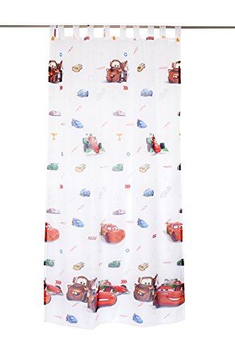 Mendola Home Textiles Tenda a Occhielli, Tessuto, Bianco