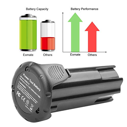 ARyee 3.6V 3000mAh Battery Replacement for Hitachi EBM315 326263 326299 DB3DL DB3DL2 FDB 3DL NT50GS NT65GA NT65GS NT65GB Screwdriver Cordless Drill Power Tools (2)