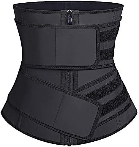 FeelinGirl Women s Latex Underbust Corset Waist Training Cincher 8XL product image