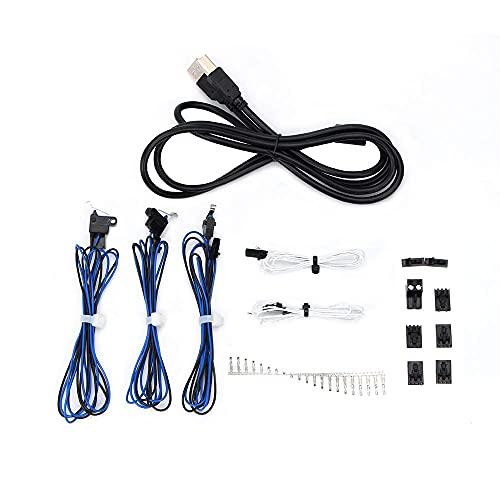 Accessori per parti della stampante 3D, 1 set di connettori Cavo di cablaggio Kit completo per Molex 5057-9402 9403 9405 per Prusa i3 MK3 EinsyRambo Board (Color : Default)