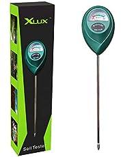 XLUX bodemvochtigheidsmeter bodem-vochtmeter, pH-hydrometer voor de tuin en de landbouw, geen batterijen nodig