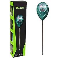 XLUX T10 Capteur d'humidité du sol, hydromètre pour le jardinage, l