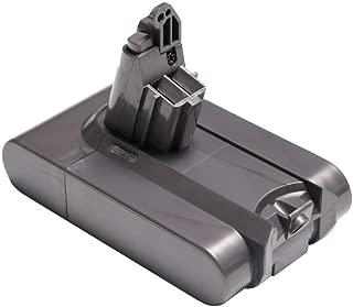2000-3500mAh V6 Battery 21.6v Li-ion Replacement for Dyson V6 DC58 DC59 DC61 DC62 Animal DC72 DC74 Series Cordless Handhold Pet Version Vacuum (D 3500MAH)