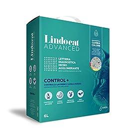 Lindocat Advanced Control Plus Cat Diagnostic Litter for Disease Natural Cat 6 Litre