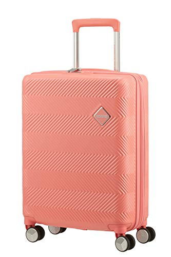 American Tourister Flylife Equipaje de Mano 55 Centimeters 46 Rosa (Coral Pink)