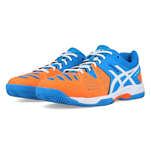 Asics - Gel-Padel Pro 3 SG - Zapatillas de Tenis Outdoor - Diva Blue/White/Shocking Orange