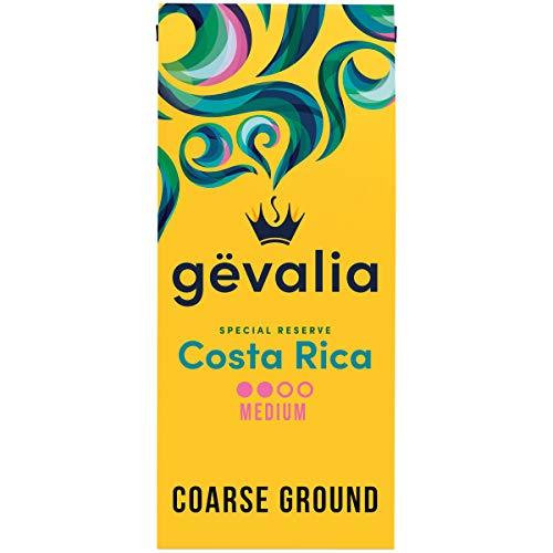 Gevalia Special Reserve Costa Rica Single Origin Medium Roast Ground Coffee (10 oz Bag)